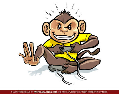 Cartoon-monkey-character-design-01-1-