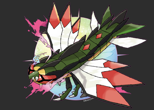 Mega yanmega by dragonith-d6hwdhd