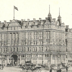 The front of the Black Abbey Hotel.