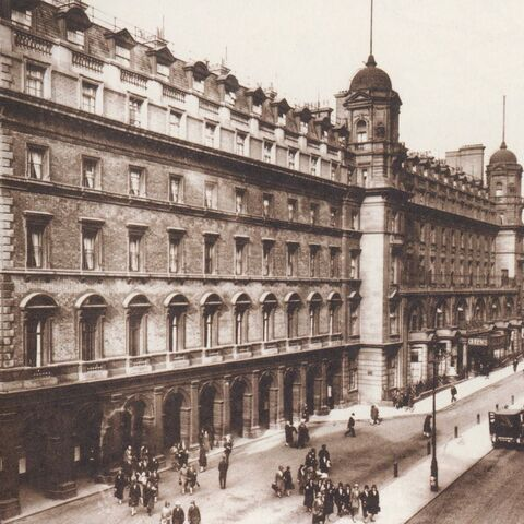 The Queen's Chariot Hotel, the largest in the country (still remains)