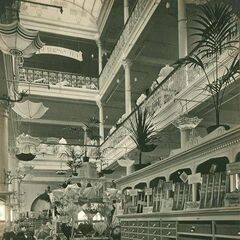The interior of Lillian's Market as it was then called on the Ambrose Hill High Street (now Lillian's Mall per its conversion in 2033). It has always been known for accentuating botany.