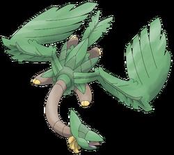 Mega tropius by smiley fakemon-d7m90l4