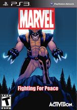 Marvel- Fighting For Peace (Wolverine Cover)