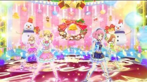 Aikatsu Stars! - アイカツスター!- Episode 37 - Yume, Laura, Mahiru, Ako - We wish you a merry Christmas