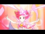 Yayoi transformation as cure moon