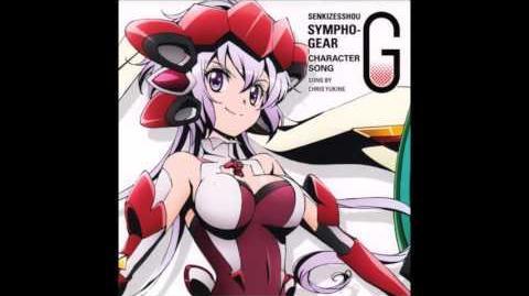 Classroom Monochrome - Yukine Chris - Senki Zesshou Symphogear G