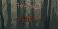 Suspect List (Revenge)