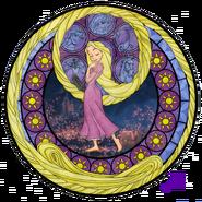 Rapunzel s stainedglasswindow by akili amethyst-d3f5m4g