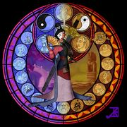 Mulan stained glass by akili amethyst-d4vrfig.png