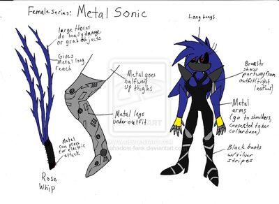 Female Metal Sonic by Mephadow fans