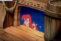 Ariel and Scuttle