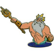 King Triton Close Up Pin