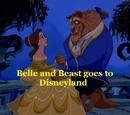 Belle and Beast goes to Disneyland/Gallery