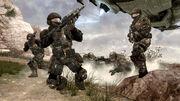 UNSC Marines on Korhall