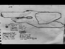Blue prints of the Lancer Class Frigate
