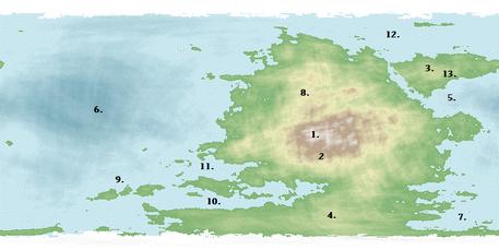Ciridin map