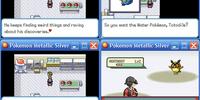 Pokemon Metallic Silver