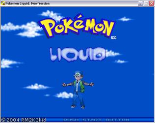Pokemon liquid