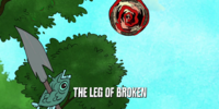 The Leg of Broken