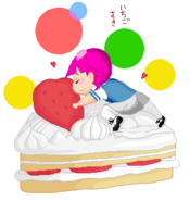 Sound of hope Ichigo's freaky love with strawberry shortcakes
