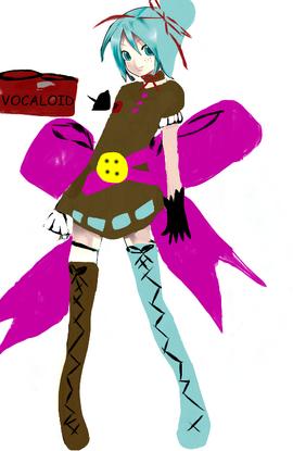Animefan2013 Miku and Stitch