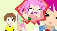 Sound of hope Chishiki Sakura scolds Ichigo