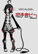 Kawaiidesu55 Vocaloid kurotane piko byRaitenkuro