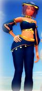 Aqua Belly Dancer