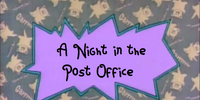 A Night in the Post Office (Babysmurfrocks Series)