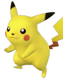 Pikachu Character Selection Portraits