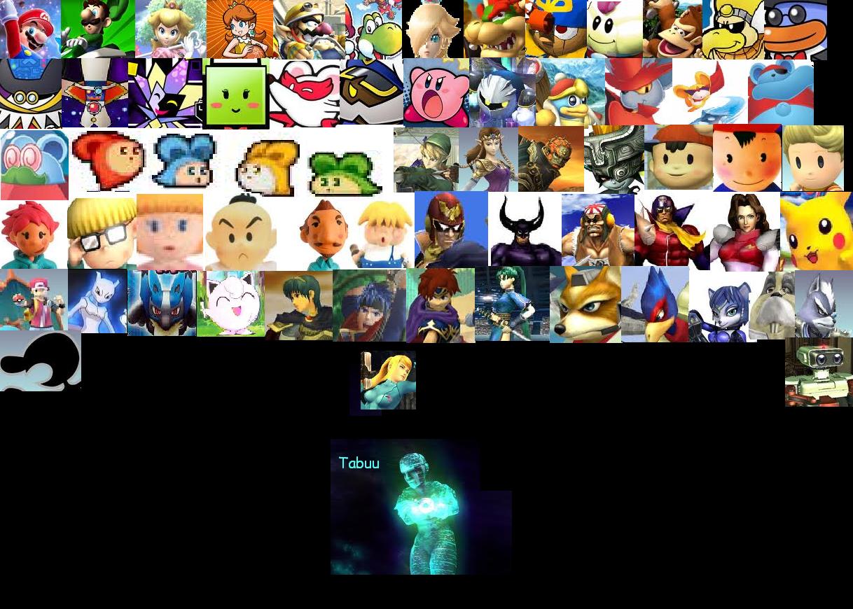 Nintendo Survivor All Characters