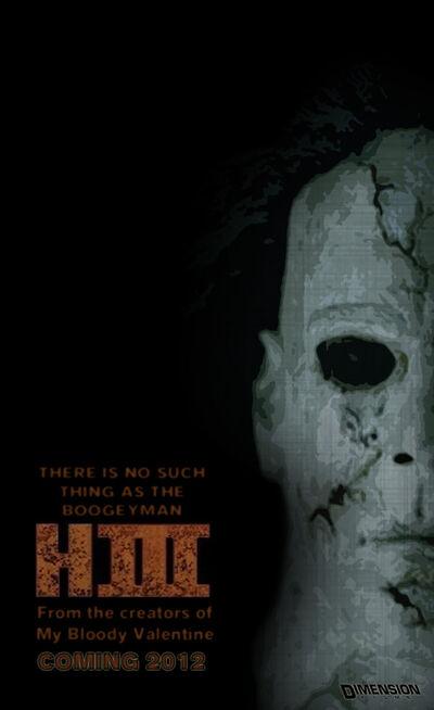 Halloween 3d movie poster by joshuatv-d3ljh1i