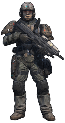 Halo Reach - Marine (Standing)