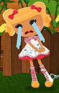 Spot Splatter Splash crying