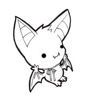 Chibi Bat by Xeohelios