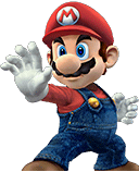 Mario Character Selection Portraits