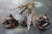 438050 md-Chaos Daemons, Chaos Space Marines, Daemons, Painting, Vehicle, Warhammer 40,000