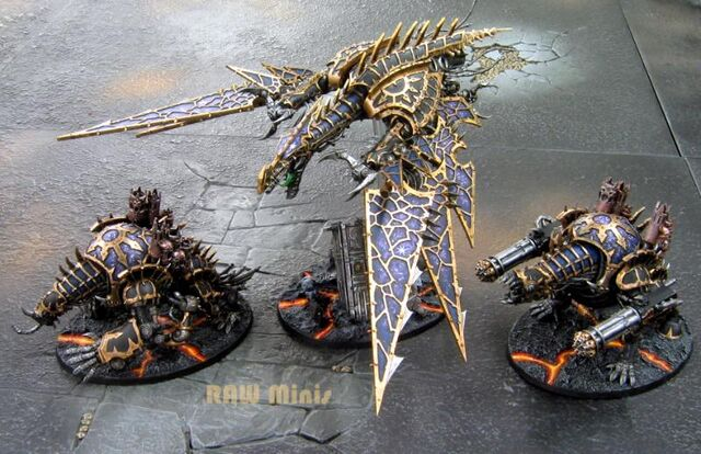 File:438050 md-Chaos Daemons, Chaos Space Marines, Daemons, Painting, Vehicle, Warhammer 40,000.jpg