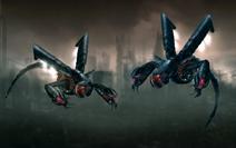 Daemitor terror drone