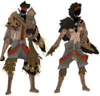 Kishuun Gunner Armor