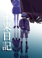 Future Diary anime poster