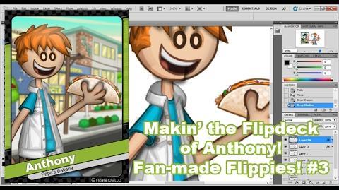 Papa Louie Makin' Anthony's Flipdeck - Fan-made Flipdecks 3