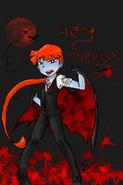 Happy halloween by bleedmanlover-d5jlajb