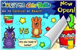 Monster Color Battle
