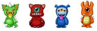 Color Battle Monsters