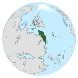 Location of Onduria on the globe.