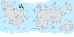 Location of Decoria on the world map.