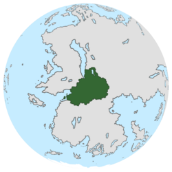 Location of Pohunskia on the globe.