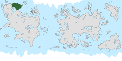 Location of Patriae on the world map.