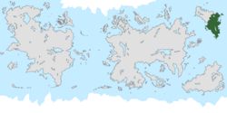 Location of Fordia on the world map.
